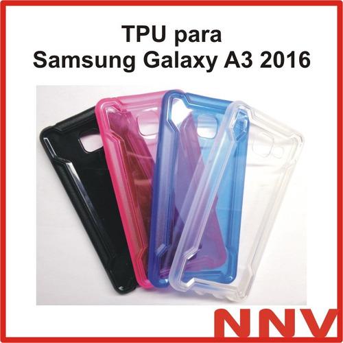 funda de silicona tpu para samsung galaxy a3 a310 2016 nnv