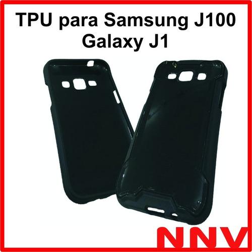 funda de silicona tpu para samsung j100 galaxy j1 4g nnv