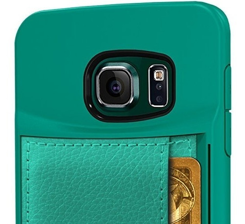 funda de silk galaxy s6 edge wallet - q funda de la tarjeta