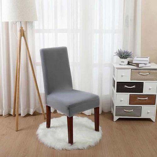 funda de silla con diseño spandex para comedor