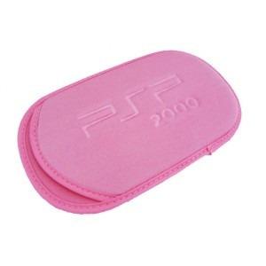 funda de tela para psp en rosa o gris nuevas. r4 envio 60$