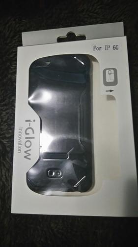 funda de uso rudo i-glow, iphone 6/6s 6plus/6splus.