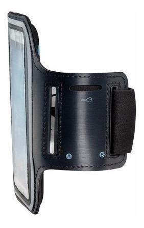 funda deportiva armband iphone 6 / 6s brazo negro