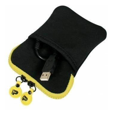 funda disco duro port digital bag delhi hdd 2.5 pink yellow