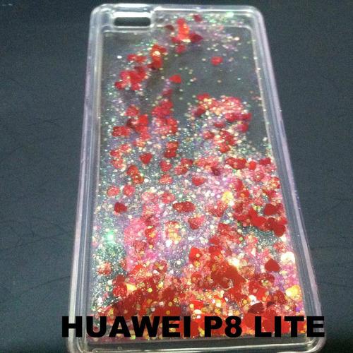 funda diseño pecera para huawei p8 lite o g elite ale-l23