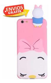 Funda Tiger Disney iPhone Silicona 6s 6 7 8 Plus - $ 239.00 en