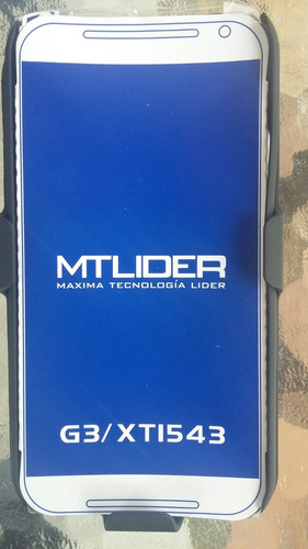 funda dual holster o clip para motorola moto g3 gener +mica
