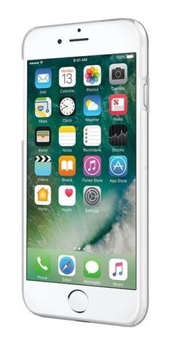 funda dura incipio feather pure para iphone 7 8 transparent