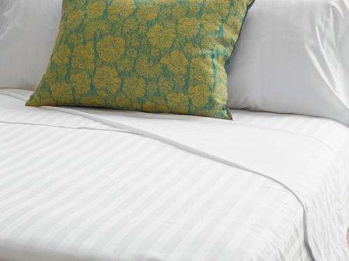 funda duvet queen 300 hilos 100% algodón hotel collection