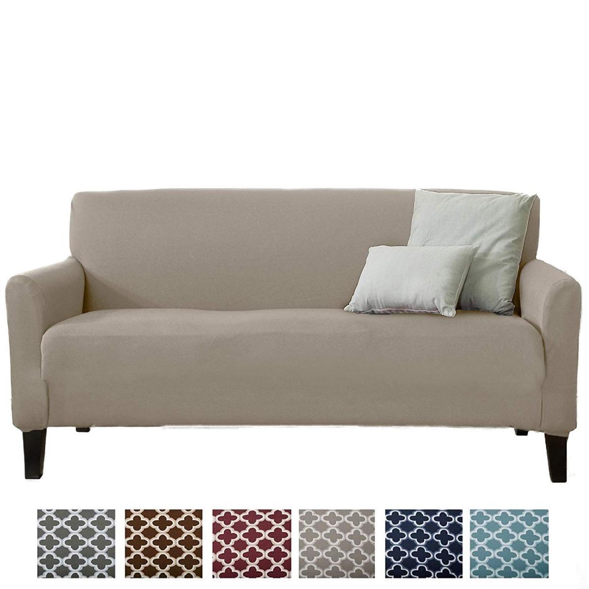 311adf5f Funda Elástica Para Mueble Sofa Colección Plateado Pps - $ 2,100.00 ...