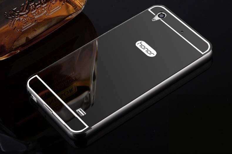 designer fashion ecacb 3e005 Funda Espejada Mirror Case Metalico Huawei Y6 Y6 Ii Gw