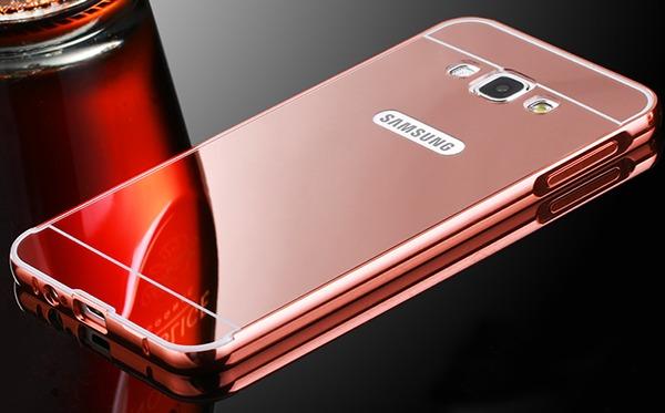 info for e7b6f d0c7c Funda Espejada Mirror Case Metalico Samsung Galaxy J1 Ace