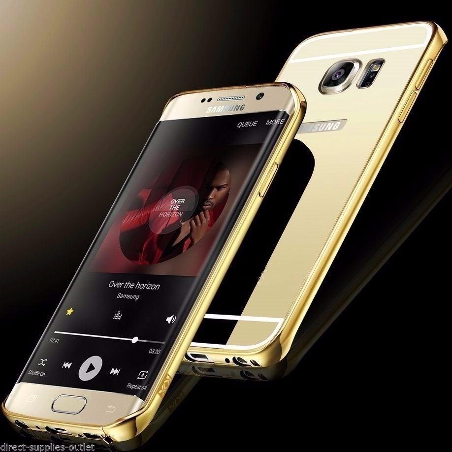 f5e0cffcf58 Funda Espejada Mirror Case Para Samsung Galaxy S6 Edge Curvo - $ 149 ...