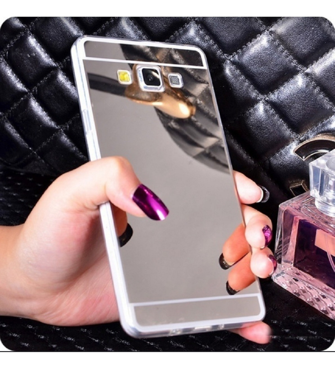 251848066ba Funda Espejada Samsung A5 A6 J1 J2 J3 J5 J7 Neo Prime S6 S7 - $ 148 ...