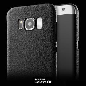 Funda Estilo Piel Pu Case Negro Slim Samsung Galaxy S8 Plus