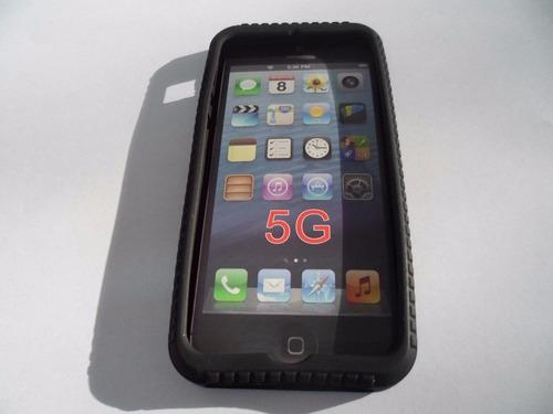 funda estuche case tpu para celular iphone 5 resistente