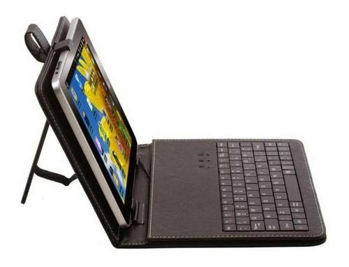 funda estuche con teclado para tablet 7 8 9 pulgadas ®