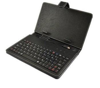 funda estuche con teclado para tablet 7 pulgadas