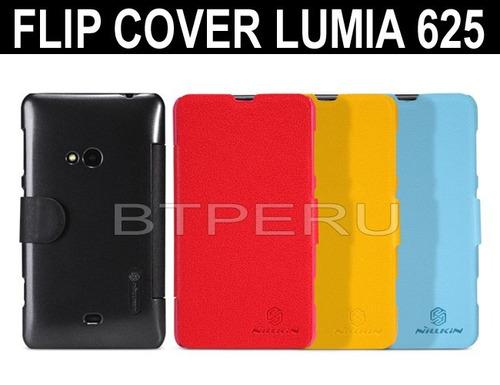 funda estuche flip cover para nokia lumia 625 protector