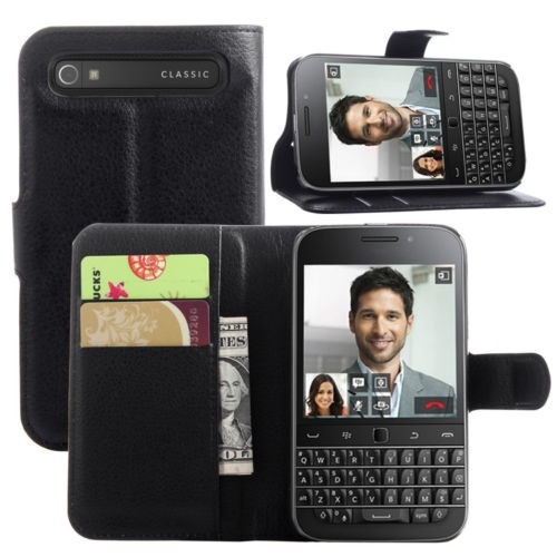 84f7dd5befe Funda Estuche Flip Cover Tarjetero Blackberry Classic Q20 - $ 499,00 ...