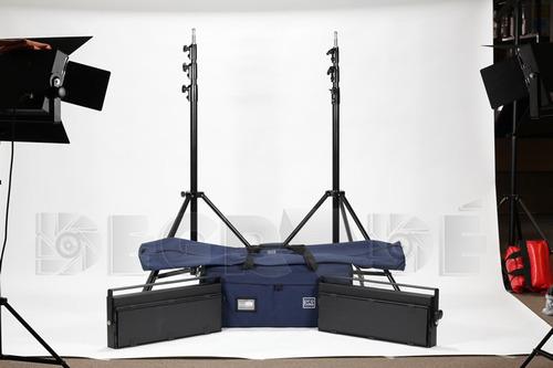 funda estuche para 2 trípodes de iluminación 120x15x10cm