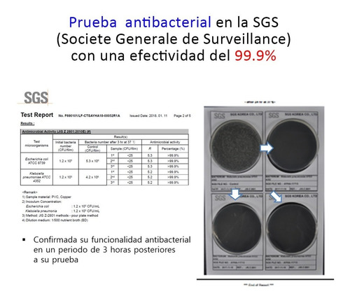 funda estuche para cubrebocas con cobre antibacterial corea