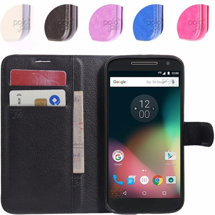 5985d54eb5c Funda Estuche Premium Motorola Moto G4 G4 Plus + Templado - $ 249,90 ...