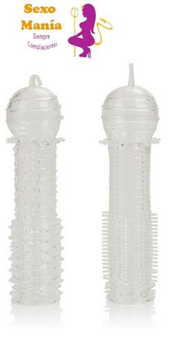 funda extension de pene estimulador flexible al mejor precio