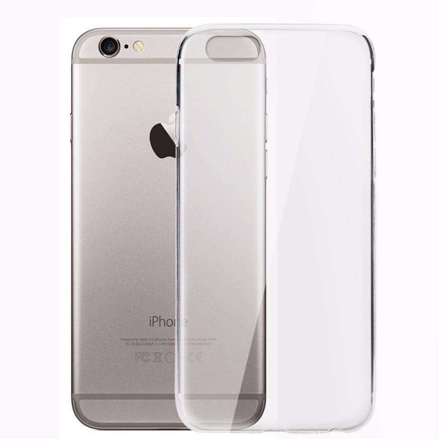 720b0afa4af Funda Fina Transparente Silicona Tpu Slim iPhone 6 Plus - $ 99,00 en ...