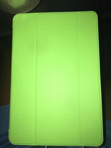 funda flexible para ipad mini - color verde - original iluv