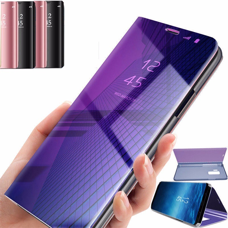promo code 24cd0 02409 Funda Flip Cover Clear View Huawei P Smart Stand View