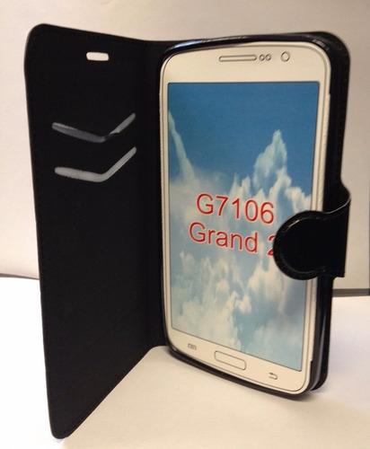 funda flip cover + protector glass  para celulares