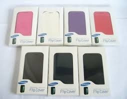 funda flip cover protector samsung galaxy fame s6810 + film