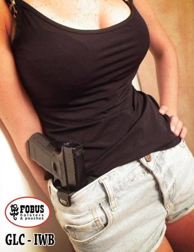 funda fobus, glock 17,19,22,23,26,27. mod. glc. uso interno