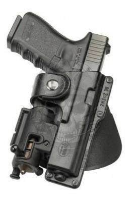 funda fobus glock  19 y 23 para usar con laser y linetrna