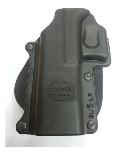funda fobus, glock 20, 21, zurdo, gl3lh.