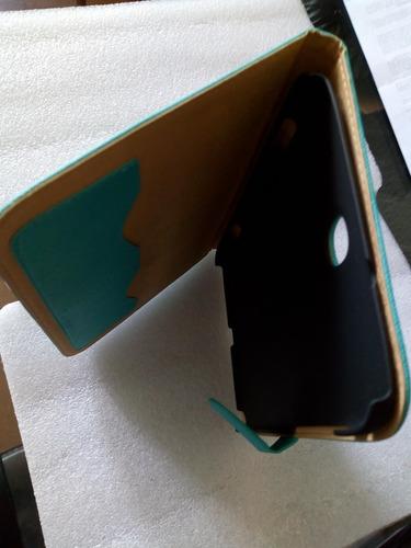 funda folio case galaxy note 8.0. n5100. azul agua-marina.