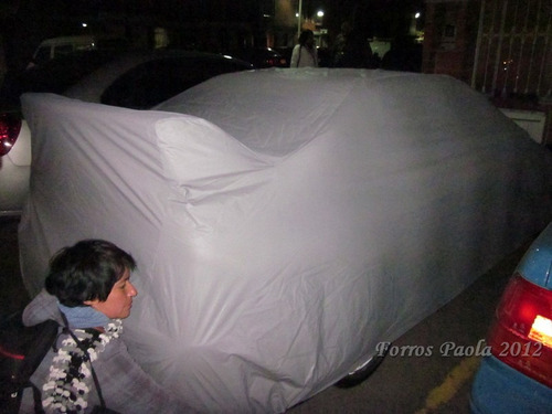 funda forro pijama carro sedán impermeable algodón a medida