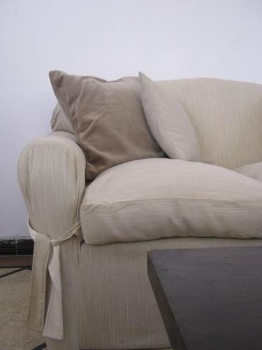 funda forro sillones dos cuerpos a medida en tela tapiceria,