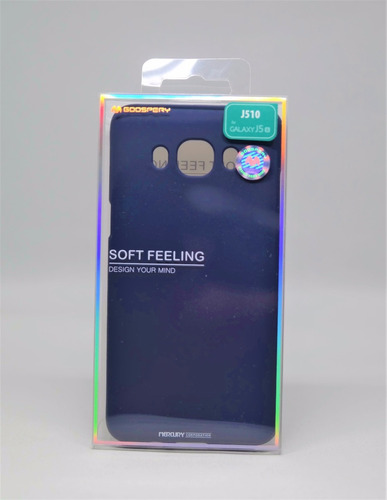 funda galaxy j5 2016 mercury goospery soft feeling navy