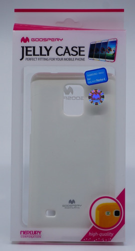 funda galaxy note 4 mercury goospery jelly case