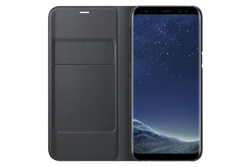 funda galaxy s8 led view cover
