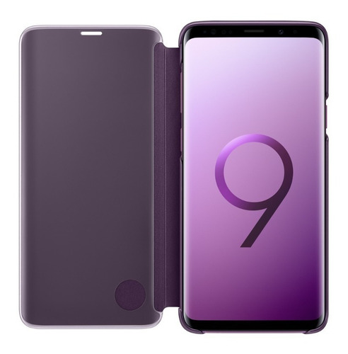 funda galaxy s9 clear view standing cover