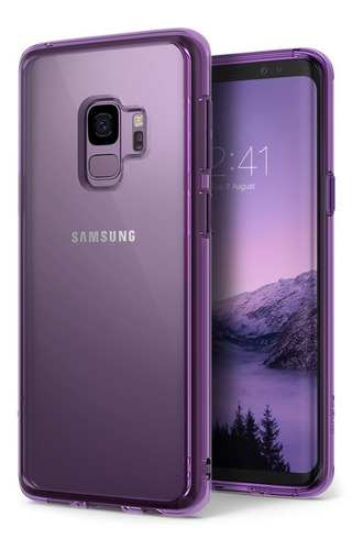 funda galaxy s9 s9 + ringke fusion + film full cover x3 env