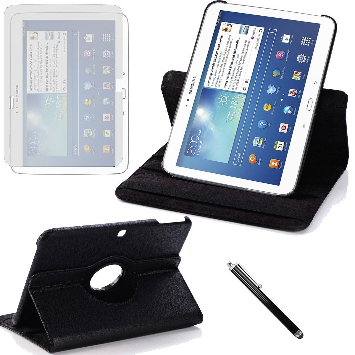 Funda galaxy tab 3 10 1 l mina l piz touch con despacho en mercado libre - Funda galaxy tab 3 10 1 ...