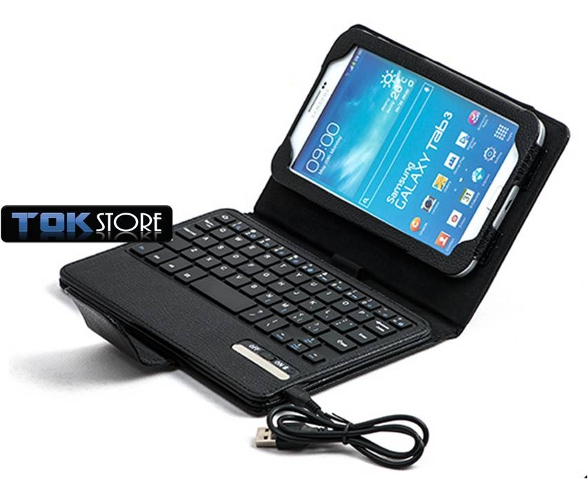 Funda galaxy tab3 7 teclado bluetooth t210 t211 p3200 p3210 en mercado libre - Funda teclado bluetooth ...