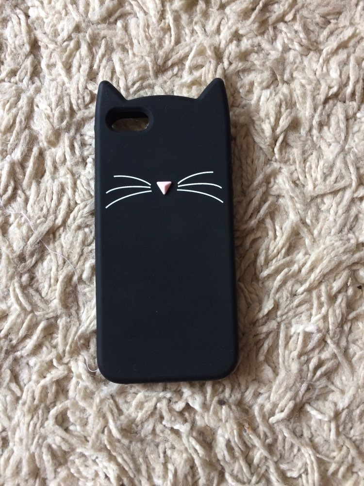 96b151e299e Funda Gato Negro Para iPhone 5|se|6|7|8|7p|8p|x|xs|xr Gatito ...