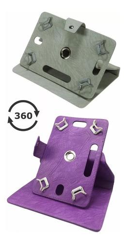 funda giratoria 360 para tabletas de 7 pulgadas