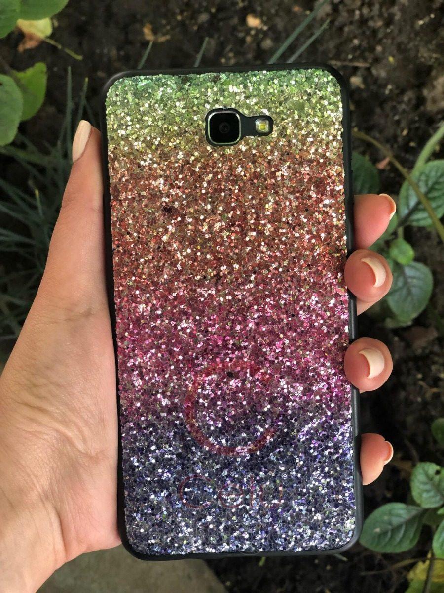 7496f4bc28b Funda Glitter Colores Brillo Para Samsung J2 J5 J7 Prime Neo - $ 249 ...