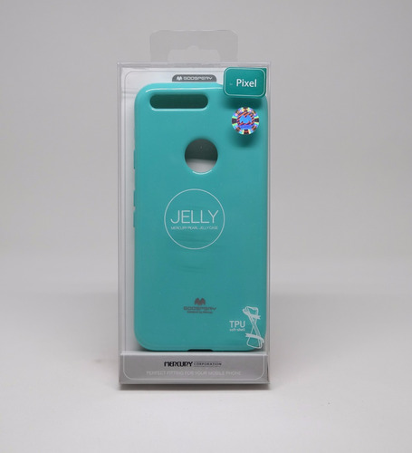 funda google pixel mercury goospery jelly case menta